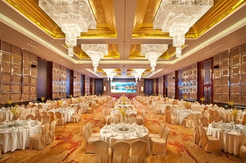 上海绿瘦酒店(原富建酒店)大宴会厅
