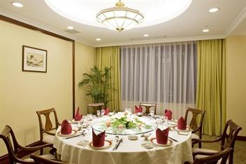 上海城市酒店四楼餐厅包房