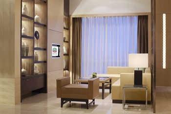 上海浦西万怡酒店行政酒廊