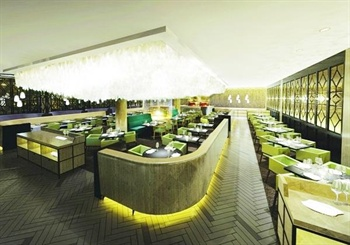 北京益田影人花园酒店罗马假日咖啡厅