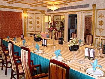 上海明珠大饭店餐厅豪华包房