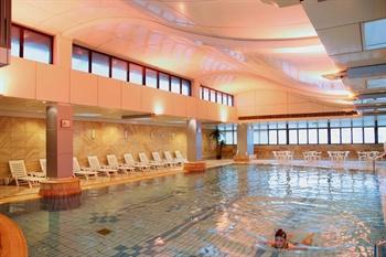 上海城市酒店游泳池