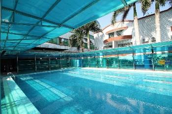 厦门天鹅大酒店游泳池