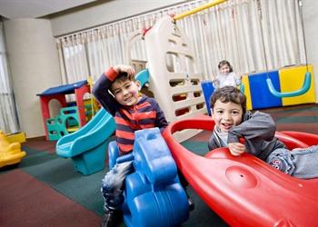 义乌贝斯特韦斯特海洋酒店儿童乐园