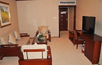 上海新东亚酒店豪华套房-客厅