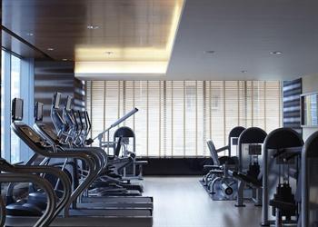 上海浦西万怡酒店健身房