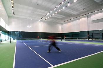 北京中国职工之家饭店室内网球馆