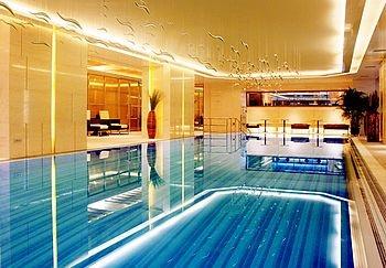 上海浦西万怡酒店游泳池