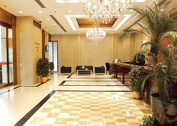 上海新东亚酒店前台