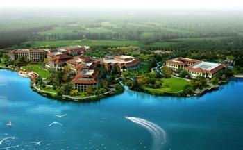 义乌幸福湖国际会议中心外观图片