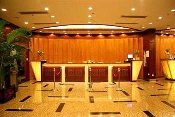上海中福大酒店大堂