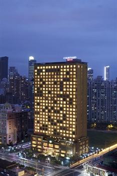 上海浦西万怡酒店酒店外观