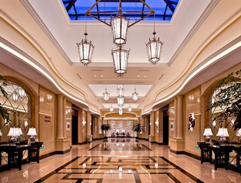 义乌幸福湖国际会议中心餐厅过厅