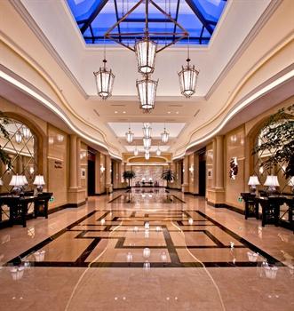 义乌幸福湖国际会议中心餐厅区域过厅