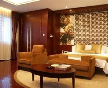 无锡鲁能万豪酒店客房