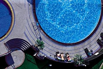 上海金陵紫金山大酒店游泳池