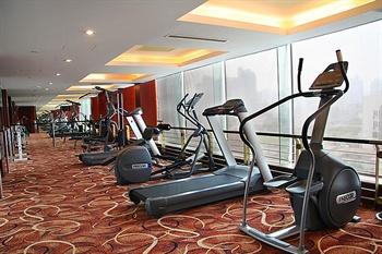 上海中祥大酒店健身房