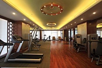 广州礼顿酒店健身房/健身中心