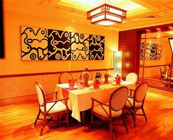 深圳大梅沙芭堤雅酒店西餐VIP房