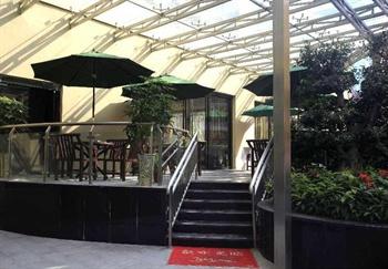 深圳鹏威酒店酒店西餐厅外廊