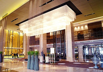 北京万达嘉华酒店大堂
