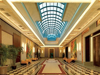 上海西郊宾馆会议中心-中厅
