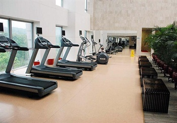 广州白云国际会议中心健身房