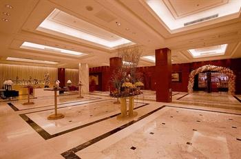 上海光大会展中心国际大酒店大厅