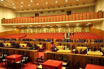 北京前门建国饭店梨园剧场