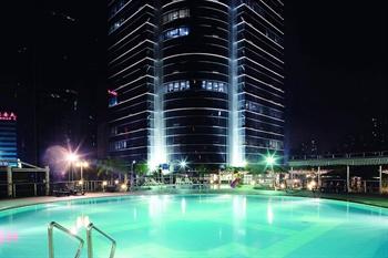 上海金陵紫金山大酒店室外游泳池