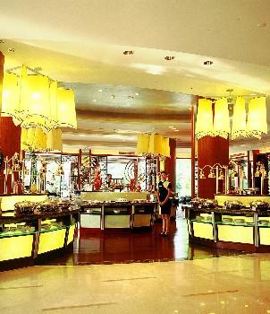 武汉东湖宾馆乙所木兰湖自助餐厅