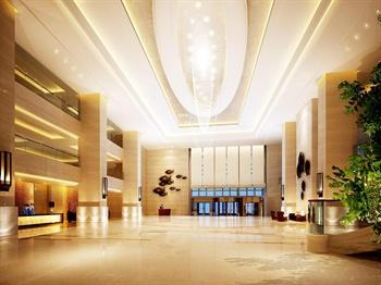 杭州白马湖建国饭店大厅
