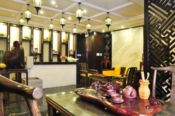 上海金陵紫金山大酒店普洱茶坊
