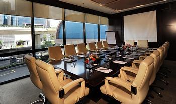 上海国际贵都大饭店会议室