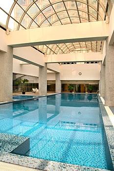 宁波东港波特曼大酒店游泳池