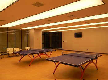 苏州在水一方大酒店乒乓球室