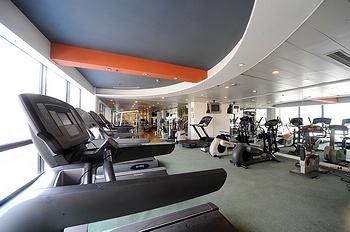 上海国际贵都大饭店健身房/健身中心