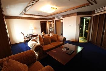 天津泰达中心酒店行政套房客厅