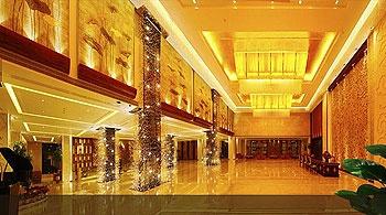 北京西国贸大酒店大堂