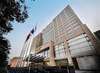 北京中关村皇冠假日酒店酒店外观图片
