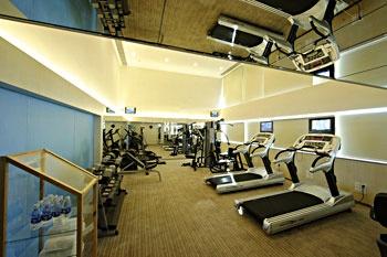 广州白云宾馆健身房