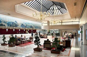 西安建国饭店大堂