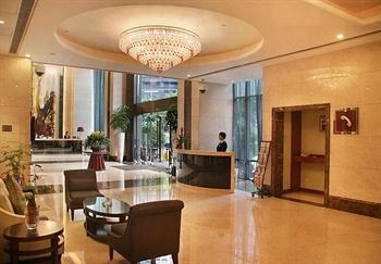 广州礼顿酒店大堂