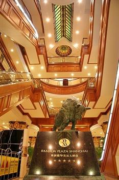 上海南新雅大酒店大堂
