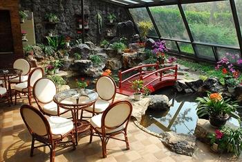 上海西郊宾馆紫竹楼休闲区