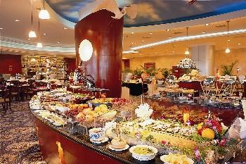 厦门国际会展酒店大堂吧餐台