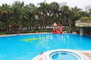 珠海度假村酒店室外游泳池