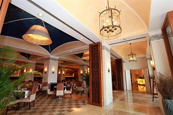 深圳东部华侨城茵特拉根酒店咖啡厅