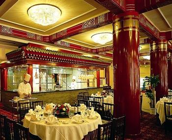 北京前门建国饭店松鹤厅