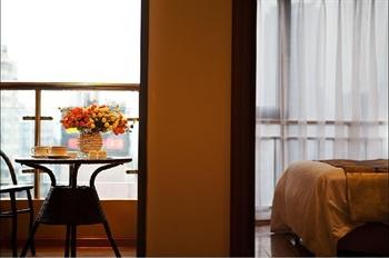 武汉未来城大酒店观景阳台